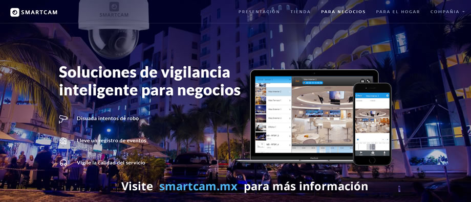 Cámaras de seguridad en Puerto Vallarta