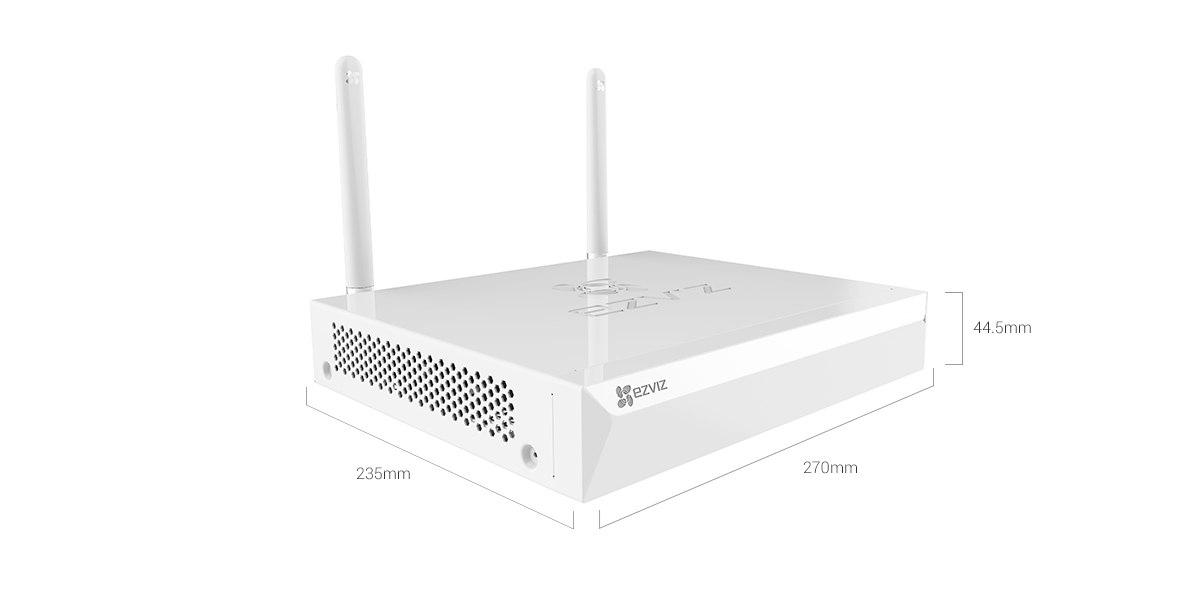 Kit EZVIZ WIFI 4 Cámaras Full HD 1080 Alta Definición